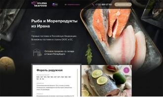 """Создание landing page для НПФК """"Вилена"""""""